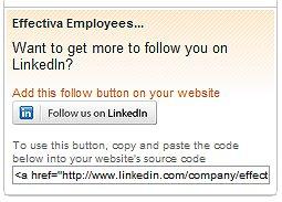 """Followers"" - כפתור ""עקוב אחרי"" לעמוד חברה- לינקדאין"
